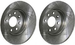 Volvo 400, 440, 460 (with Non-vented discs) Front Brake Discs (Pair)